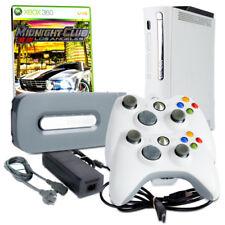 Xbox 360 Console Blanc #1A + 60GB +Câble + 2 Contrôleur + Club Minuit Los