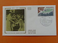 tennis Wimbledon centenary FDC Monaco 38480
