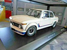 BMW 2002 02er Turbo E10 E20 weiss white 1973 RAR Minichamps 1:18