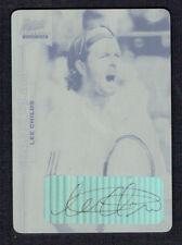 Lee Childs signed autograph 2013 Ace Authentic Grand Slam Tennis Black Plate 1/1