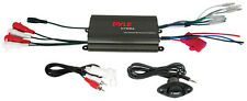 Pyle 4 Channel 800 Watt Waterproof Micro Marine Amplifier (plmrmp3b)