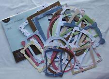 Creative Memories Discover Paper Frames/Embellishments Card/Scrapbook
