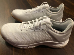 New Adidas Womens Crazy Flight X 3 Volleyball Shoes Size 9 White