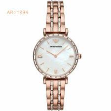 Emporio Armani Rose Gold Tone Women's Quartz Stainless Steel AR11294 Watch