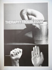 THERAPY TROUBLEGUM poster dimension environ 61 x 86 cm