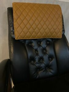DESERT quilted recliner sofa chair love seat headrest arm rest leather damage
