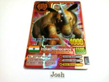 Animal Kaiser English Version Ver 6 Bronze Card (A032: Indian Rhinoceros)