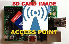 Raspberry Pi3 Pi4 Access Point SD Card Image Noobs