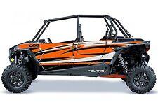Polaris 1000 rzr 4 Razer Cut Graphic Kits Decal Wraps RZR 1000 4 Door Graph