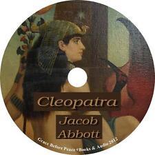 Cleopatra Jacob Abbott Audiobook unabridged English Non Fiction 1 MP3 CD