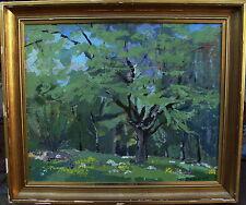 Sven Davidsson 1911-2004, Frühjahrswald, datiert 1957