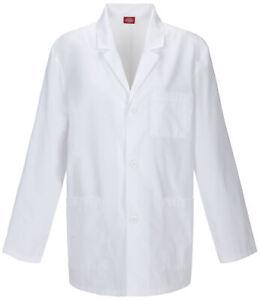 """Dickies EDS Scrubs 31"""" Men's Consultation Lab Coat"""