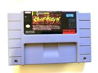 Street Hockey 95 SUPER NINTENDO SNES GAME Tested + WORKING & Authentic!