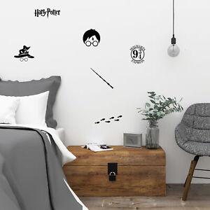 Small Harry Potter Vinyl Wall Art Decal Sticker Set Kids Bedroom Decoration