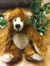 """Brand New Handmade Mohair Artist Bear """"Anton"""""""