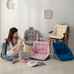 Cute Plush Cushion Waist Backrest Protection Office Computer Chair Thickened~~~