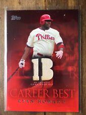 2009 Topps Career Best Relics Ryan Howard Bat #CBR-RH