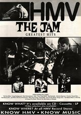 6/7/91 Pgn02 Advert: the Jam. Greatest Hits Album In Hmv Stores Now 15x11