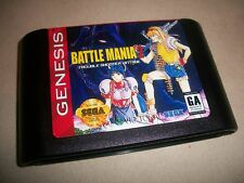 Sega Genesis Battle Mania 2 Trouble Shooter Vintage NTSC English Game