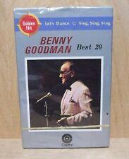 Benny Goodman - Best 20   Quality Japanese Import   CASSETTE  NEW