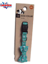Heavy Duty Quality Adjustable Webbing Dog Collar With Bow Tie Small Size