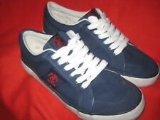 BEVERLY HILLS POLO CLUB Navy Blue CANVAS DECK/BOAT SHOES Size 10.5
