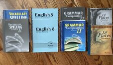 Abeka English 8 Lot Grammar Spelling Reading