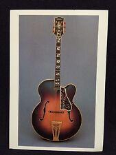 1941 Gibson Super 400 Premiere Orchestra Guitar Post Card FS