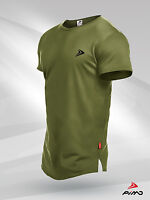 PIMD Lifestyle Khaki Tee - Fitness Workout Gym Muscle T-Shirt Bodybuilding Mens