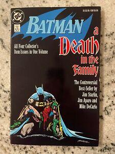 Batman A Death In The Family DC Comics TPB Graphic Novel Comic Book Joker J587