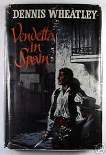 VENDETTA IN SPAIN by Dennis Wheatley (1961) - HARDBACK - 1st Edition