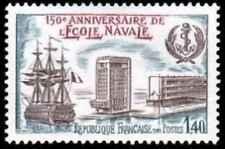 Timbre Bateaux France 2170 ** année 1981 lot 26081