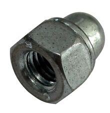 50x écrou héxagonal borgne M5 8mm H10.5mm DIN986 acier zingué