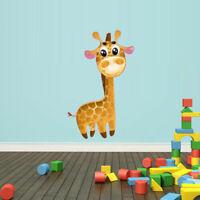 Full Color Wall Vinyl Sticker Decals Giraffe Animal (Col72)