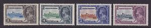 British Honduras. 1935. SG 143-147. Silver Jubilee. Mounted mint.
