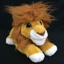 VTG Lion King Roaring Simba Plush Disney Mattel Stuffed Animal Toy 1993 Working