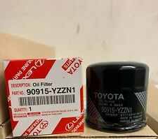 Five (5) 90915-Yzzn1 Genuine Toyota Oil Filters for Corolla and Yaris