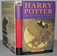 *Harry potter And The Prisoner Of Azkaban, HB, 1st Ed, 9th Print, 1999. Rare