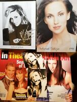 DEBBIE GIBSON: Autographed Photo, '98 Calendar, 2 Magazines, Color Negative, etc