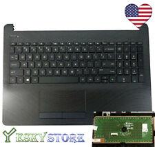 New Genuine HP 15-BS 15BS060 15-BW Palmrest Case W/ Keyboard Touchpad 925010-001