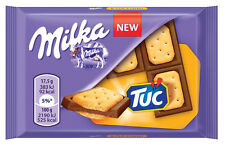 MILKA & TUC Alpine Milk Chocolate Bar with TUC Crackers 35g 1.2oz