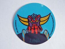 ADESIVO Sticker card vintage UFO ROBOT GOLDRAKE 1978 nome LINA