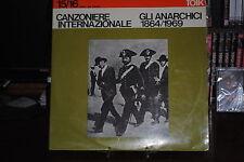 "CANZONIERE INTERNATIONAL GLI ANARCHISTES 1864/1969 - 2 LP 33 TOURS 12"""