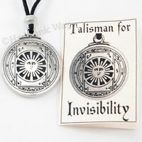 Talisman for INVISIBILITY Protection Amulet Magick Pendant Necklace