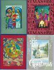 Handmade RELIGIOUS CHRISTMAS CARDS #CR11--Lot of 4