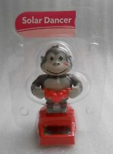 New Sealed Solar Powered Valentine Smiling Gorilla with Hearts Decoration/Toy