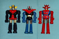 "vintage SHOGUN WARRIORS 3"" FIGURES LOT Dragun Grandizer Great Mazinga"