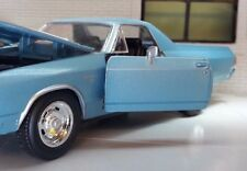 G 1:25 24 Scala Chevrolet El Camino SS 1970 New Ray Vettura Pick-up 71883 blu