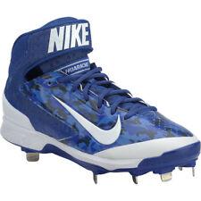 Mens Nike Air Huarache Pro Mid Metal Baseball Cleats ROYAL BLUE WHITE  sz 11.5