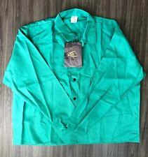 Black Stallion Fr Flame Resistant Jacket Work Shirt Green Xxxl 3Xl